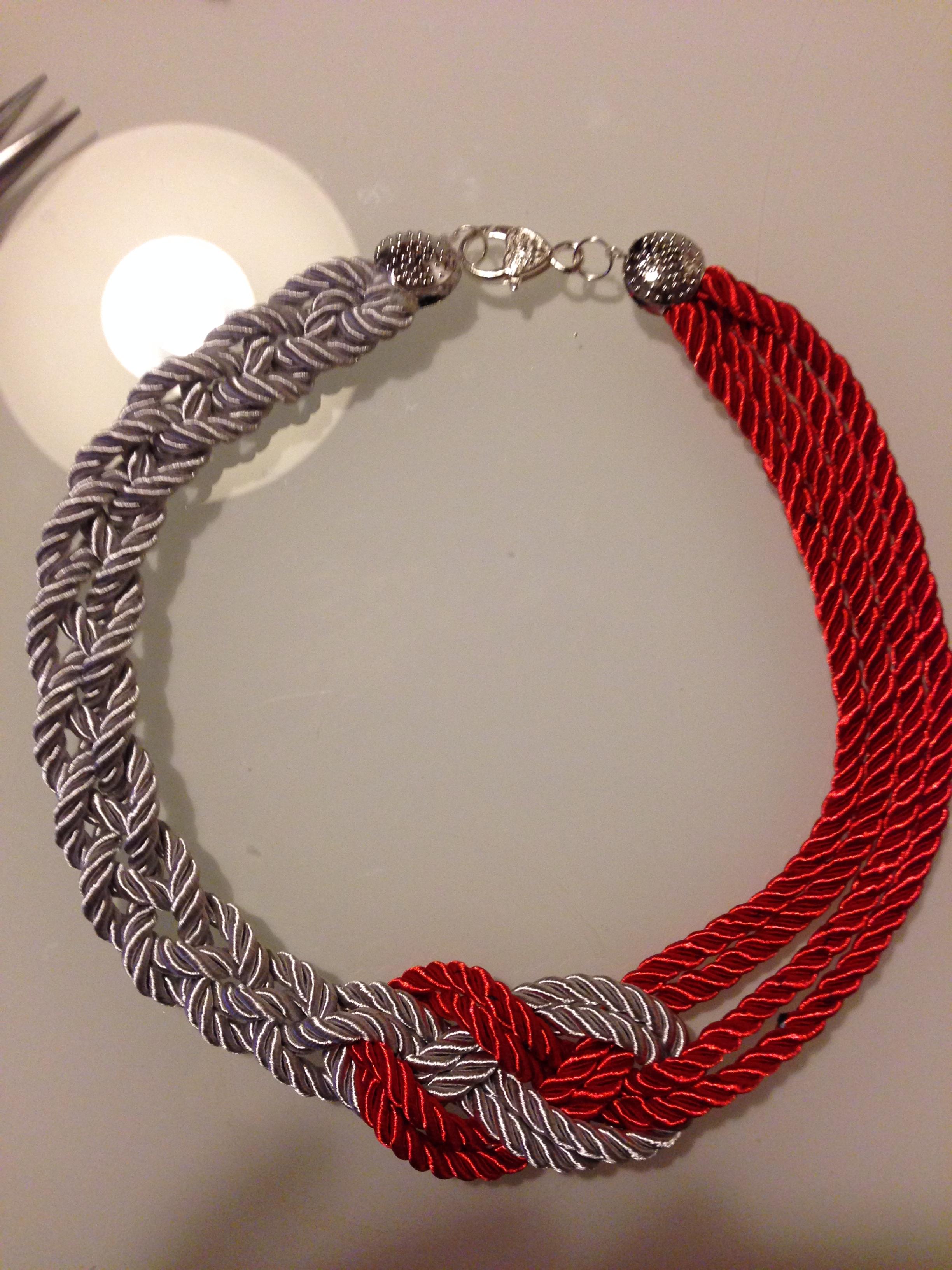 Favoloso Tutorial bijoux handmade: la collana Hug   cultura del gioiello PA28